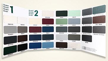 Gamma di colori per le finestre in PVC