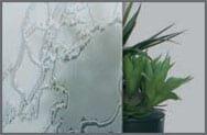 Sticla ornamentala Delta