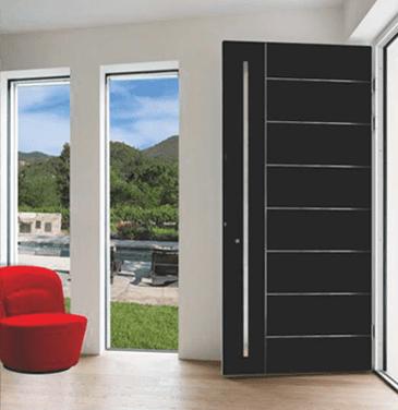 Porte d'ingresso in alluminio gamma Elite