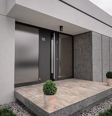 Porte in PVC e Alluminio