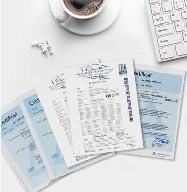 Certificati di conformità
